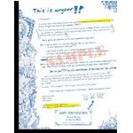 sales letter image