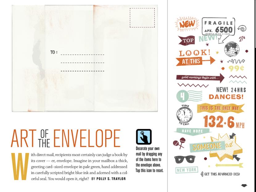 envelope ideas